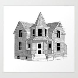 Vancouver Heritage Art Print