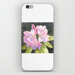 Pink Rhododendron iPhone Skin