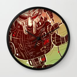 MF DOOMBOT! Wall Clock