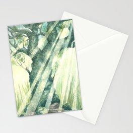 Acuarella wood Stationery Cards