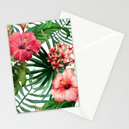 FLOWERS WATERCOLOR 8 Stationery Cards