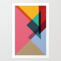 Triangles (Part 2) Art Print