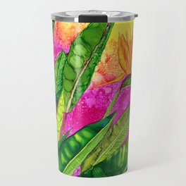 Bird of paradise flower Travel Mug