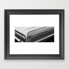 white impala Framed Art Print