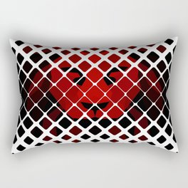 Red diamond lion Rectangular Pillow