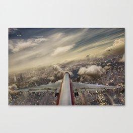 Kennedy tower Iberia 6253 Canvas Print