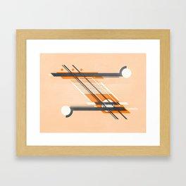parallel approach Framed Art Print