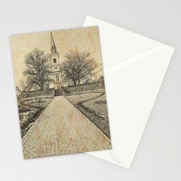 A Hungarian Church in Szekelyföld Stationery Cards