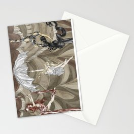 Midnight Circus: the Acrobats Stationery Cards