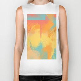 Thoughts abstract image Biker Tank