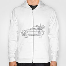 Great Scott! It's a DeLorean! Hoody