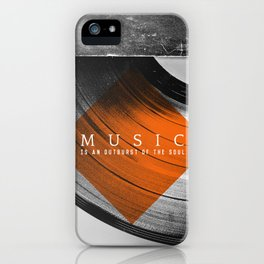 Outburst iPhone Case