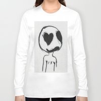 larry Long Sleeve T-shirts featuring Larry by Anna Dunlap Hartshorn