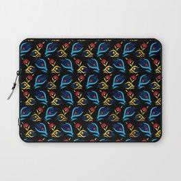Turkish tulip - Ottoman tile pattern 2 Laptop Sleeve