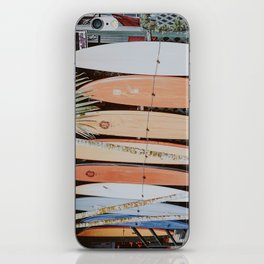 lets surf ii iPhone Skin