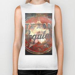 Texan - Vintage Label Biker Tank