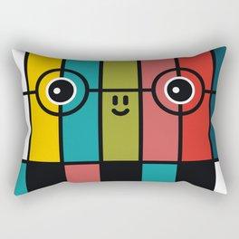 color bars Rectangular Pillow