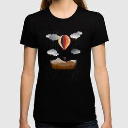 Balloon Aeronautics Rain T-shirt