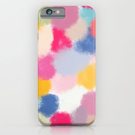 Splotches - by Kara Peters iPhone Case