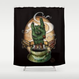 The Redeye Shower Curtain