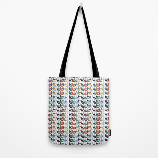 Fun triangles Tote Bag