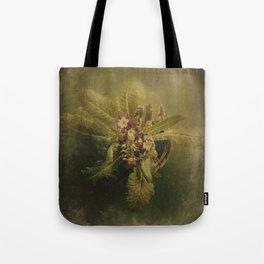 Little Winter Flower Tote Bag