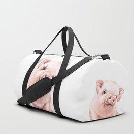 Pink Baby Pig Duffle Bag