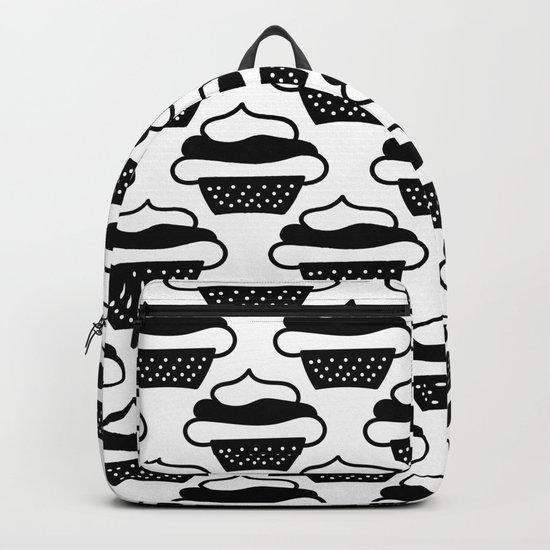 Black cupcakes Backpack