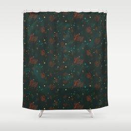 Cosmic Pattern Shower Curtain