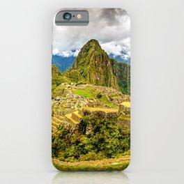 Machu Picchu Ancient Mountain City iPhone Case