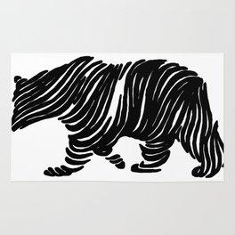 A Bear Walking Rug