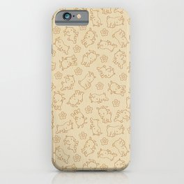 Ditsy Goat iPhone Case