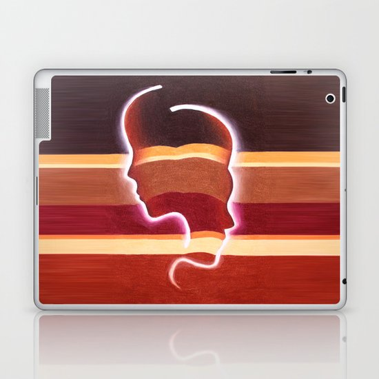 Back to Back Laptop & iPad Skin