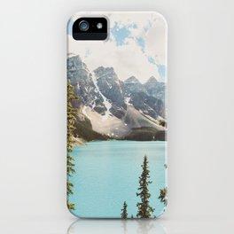 Moraine Lake II Banff National Park iPhone Case