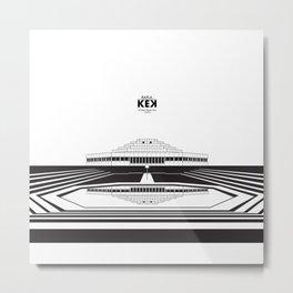 Architecture of Rapla KEK Metal Print