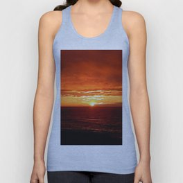 Sun Sets on the Mighty Saint-Lawrence Unisex Tank Top