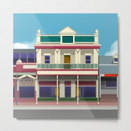 Queen Street, Berry No.2 Historic Architecture Metal Print