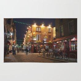 Temple Bar in Dublin Rug