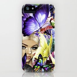 The Royal Butterfly Grounds iPhone Case