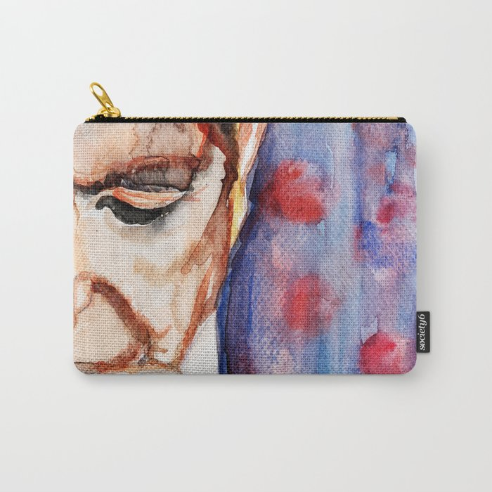 I'm Your Man, illustration by Ines Zgonc Carry-All Pouch