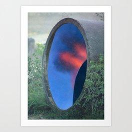 Industrial Fantasia Portal Art Print