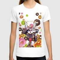 donuts T-shirts featuring Donuts by Coralus