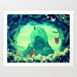 The Forest's Secret Art Print