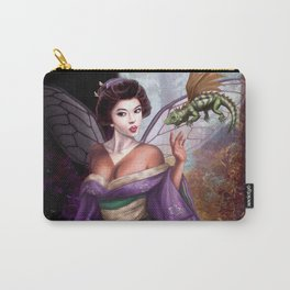 Geisha Fairy and Orson the Dragon Carry-All Pouch