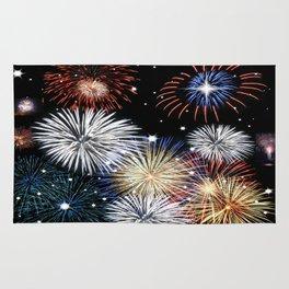 Grand Finale Firework Show Rug