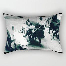 Dog Walker NYC  Rectangular Pillow