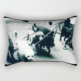 Dog Walker NYC  Rectangular Pillow