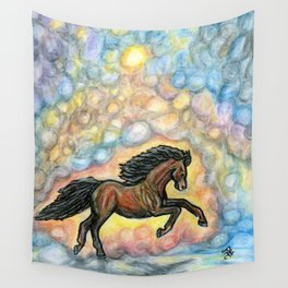Comet Horse Wall Tapestry