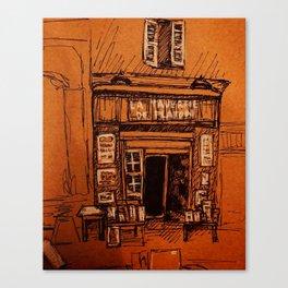 Shopfront Canvas Print