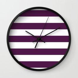 Loulou Big Horizontal Stripes   Interior Design Wall Clock